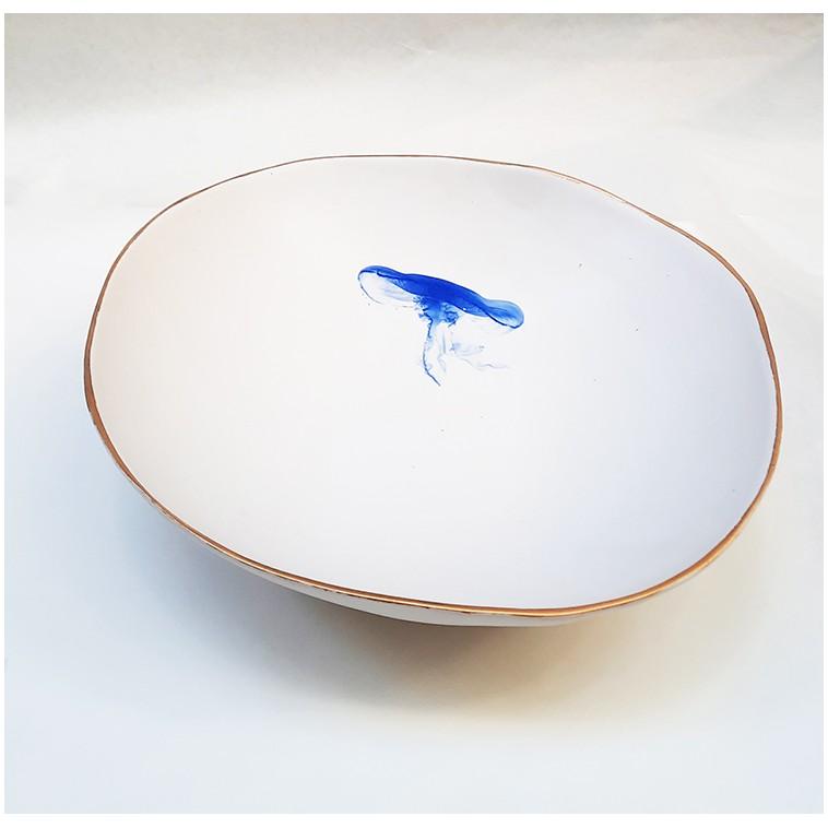 MEDUSA ensaladera o centro de mesa en ceramica
