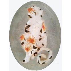 MONKEY FLOWERS tableau de K. fabrizzi