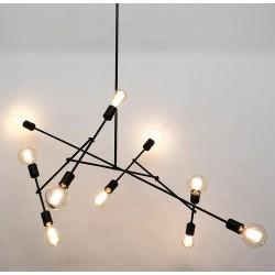 MOGI BLACK 10 chandelier