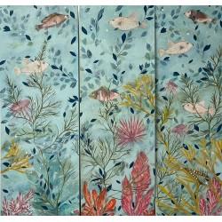 THE BIG BLUE tableaux décoratifs pour extérieur