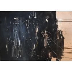 SKETCH 03 pintura sobre cartulina de The Catman
