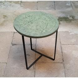 EMPREINTES R circular side table