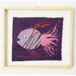 FUNNY FISH 08 painting by Susana del Baño