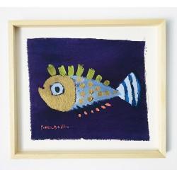 FUNNY FISH 12 painting by Susana del Baño