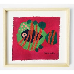 FUNNY FISH 13 painting by Susana del Baño