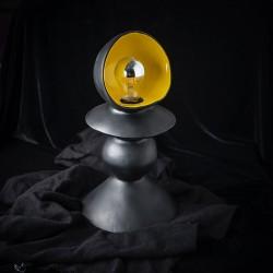 BLACK ARGINAUTA ceramic table lamp