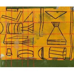 OBRA cuadro del artista Irene Bou