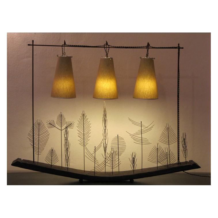 PAYSAGE sculpure lamp