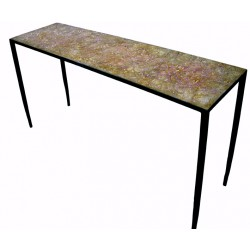 EMPREINTE Beige table console by Josep Cerdá