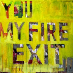 FIRE EXIT cuadro de The Catman