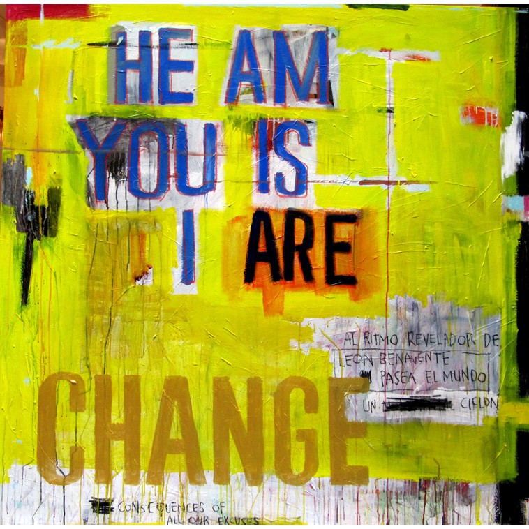CHANGE painting by The Catman