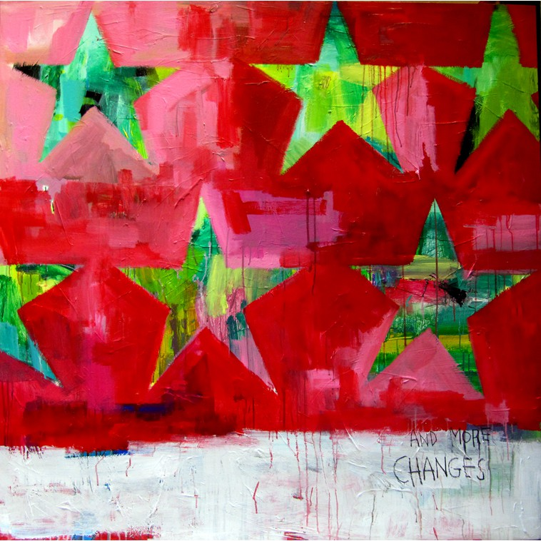 ESTRELLAS painting by The Catman