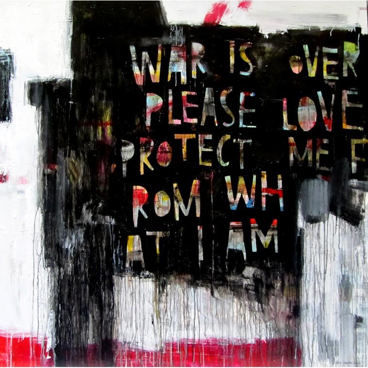 WAR IS OVER cuadro de The Catman